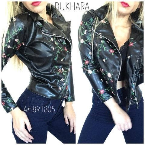 campera simil bordada