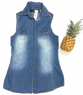 Camisa musculosa jean