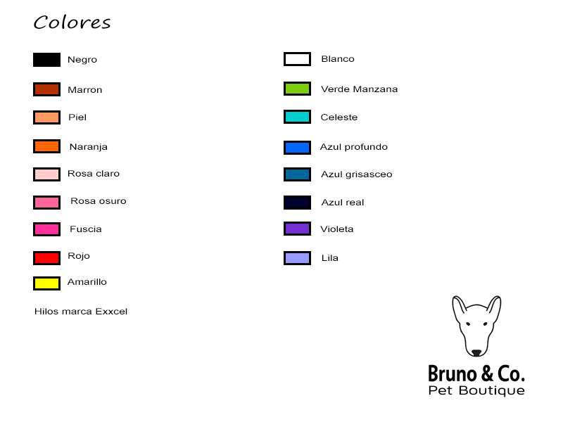 colores burno & co pet boutique