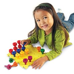 Juego Rainbow Peg Play Activity Set de Learning Resources - comprar online
