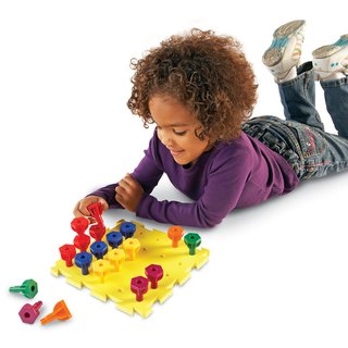 Juego Rainbow Peg Play Activity Set de Learning Resources - tienda online