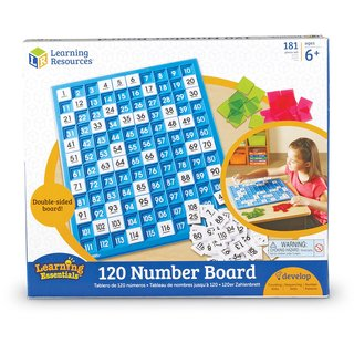 Tablero 120 Números de Learning Resources (120 Number Board)