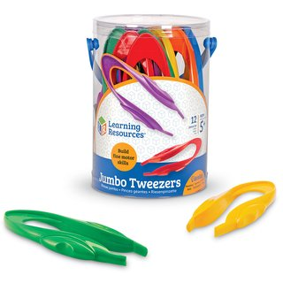 Pinzas Jumbo Tweezers de Learning Resources - comprar online