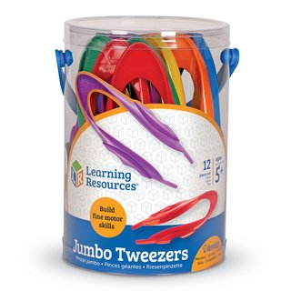 Pinzas Jumbo Tweezers de Learning Resources