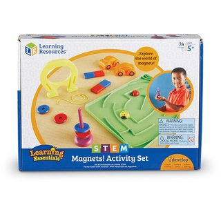 Set de Actividades con Magnetos de Learning Resources (Stem Magnets! Activity Set) - tienda online