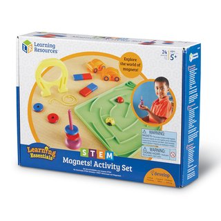 Set de Actividades con Magnetos de Learning Resources (Stem Magnets! Activity Set) en internet