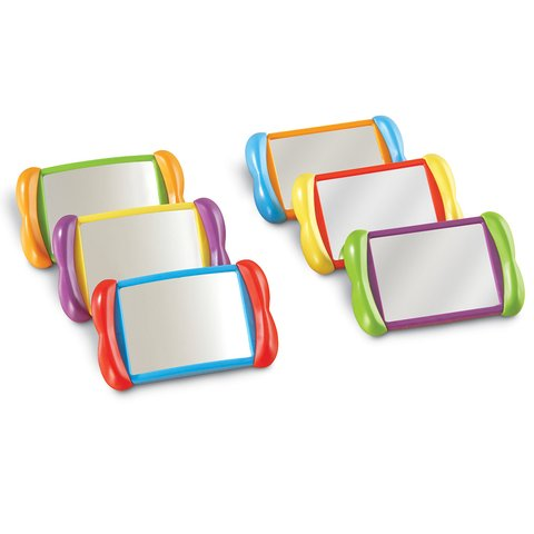 Espejos 2 en 1 de Learning Resources (All About Me 2 in 1 Mirrors)