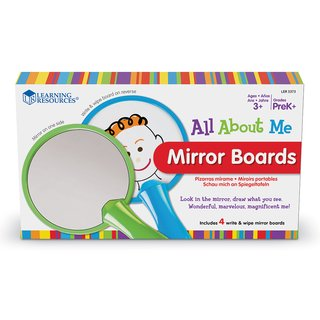Espejitos de Mano de Learning Resources (All About Me Mirror Boards) en internet