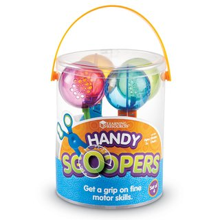 Tijeras Handy Scoopers de Learning Resources en internet