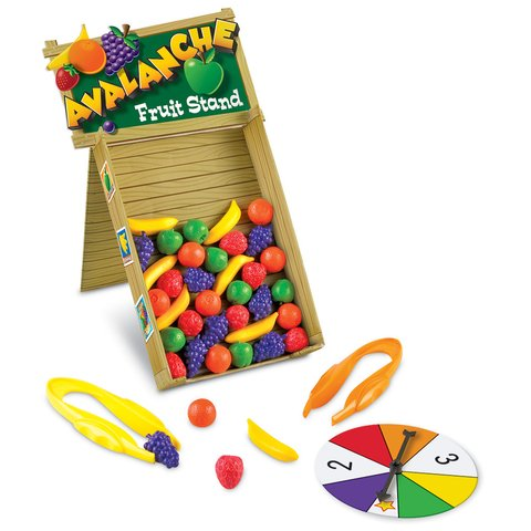 Avalancha de Frutas de Learning Resources (Avalanche Stand Fruit)