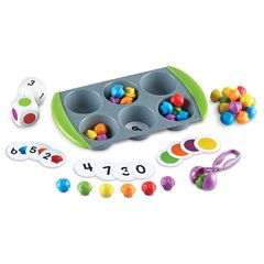 Actividades Matemáticas con Mini Muffins de Learning Resources (Mini Muffin Match Up Math Activity Set)