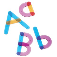 Set de Construcción de Letras de Learning Resources (Letter Construction Activity Set)
