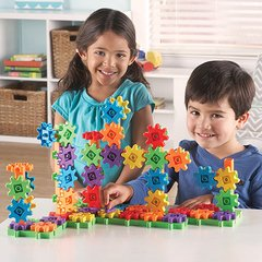 Set de Construcción de Engranajes de Learning Resources (Basic Building Set 100-Piece Deluxe) - comprar online