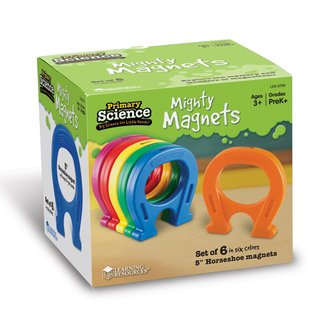 Magnetos Herraduras de Learning Resources (Primary Science 5