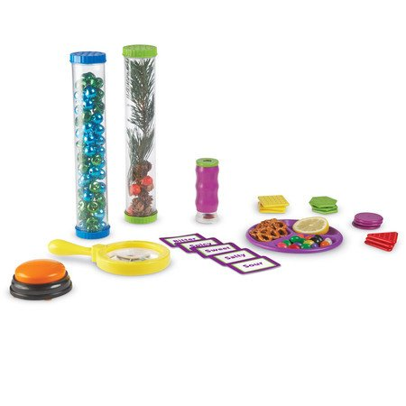 Juego de Ciencias - Los Cinco Sentidos de Learning Resources (Primary Science ™ 5 Senses Activity Set)
