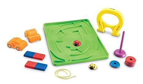 Set de Actividades con Magnetos de Learning Resources (Stem Magnets! Activity Set)