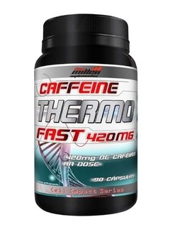 Thermo Fast 420mg Cafeina 90caps - New Millen