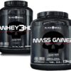 GAINER MASS 3KG + WHEY 3HD 900G - BLACK SKULL