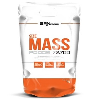 SIZE MASS FOODS 72.700 - BR NUTRITION FOODS