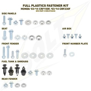 kit-parafuso-bolt-plásticos-crf230-crf150