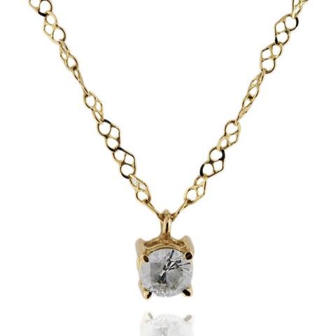 Ponto de Luz em ouro amarelo 18k com Diamante 33 pontos Código   18KPDLOAD0003 279cbb9d6d