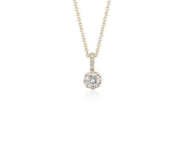 bc2fbaf8b00db Pingente ponto de luz em ouro e diamante (0