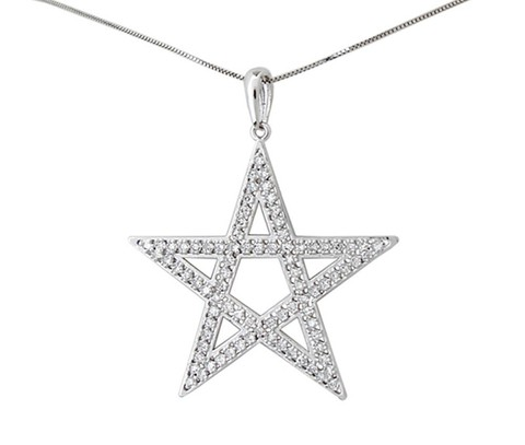 7f65dabeb99 Pingente Em Ouro Amarelo Estrela Com 60 Diamantes código  pin10128 -  comprar online
