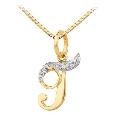 531f294ca3113 ... Pingente Letra Em Ouro 18k Com Diamantes Código  18K190520000017 -  18Karat Joias