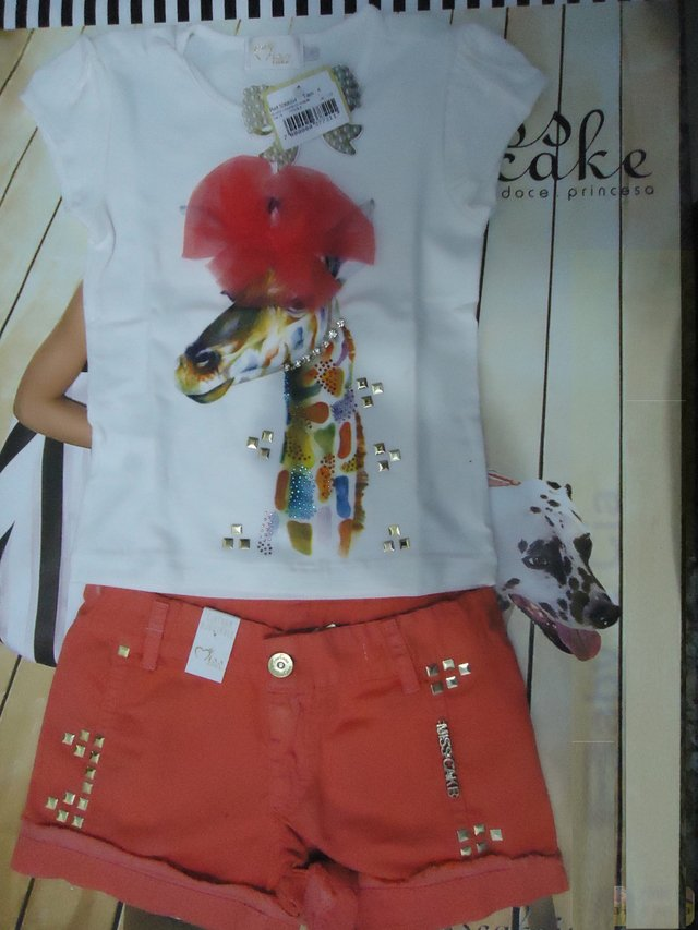 Conjunto Blusa com Shorts Miss Cake 530054 - buy online