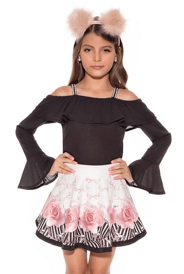 15320b2b5c Conjunto falda y blusa niños de la manera Diforini y Jóvenes 121660