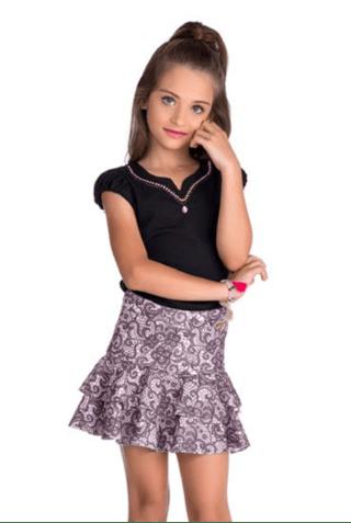 1a56b3ae3e vestido infanto juvenil - Lila Baby e Cia Moda Infantil
