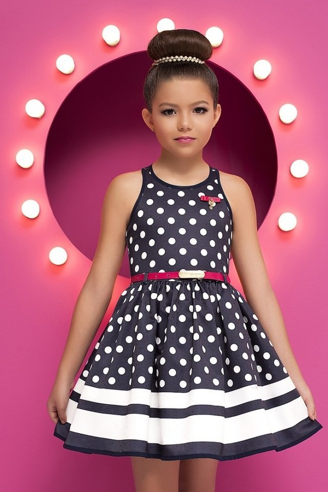 Dress Kids Diforini Moda Infanto Juvenil 010780