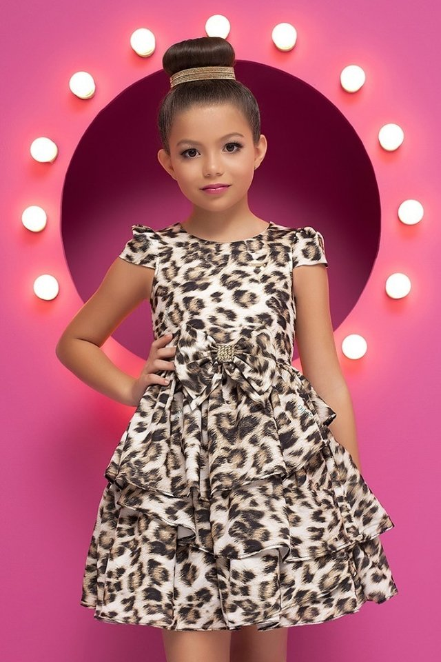 Dress Kids Diforini Moda Infanto Juvenil 010781