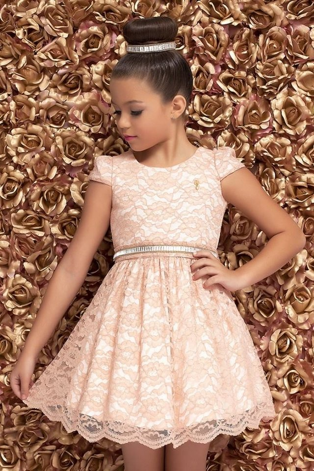 Dress Kids Diforini Moda Infanto Juvenil 010782