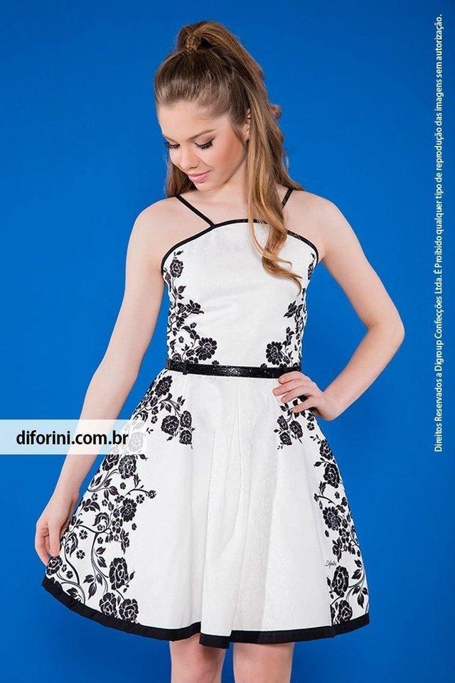 abf734d4e Vestido Infantil Diforini Moda Infanto Juvenil 010815