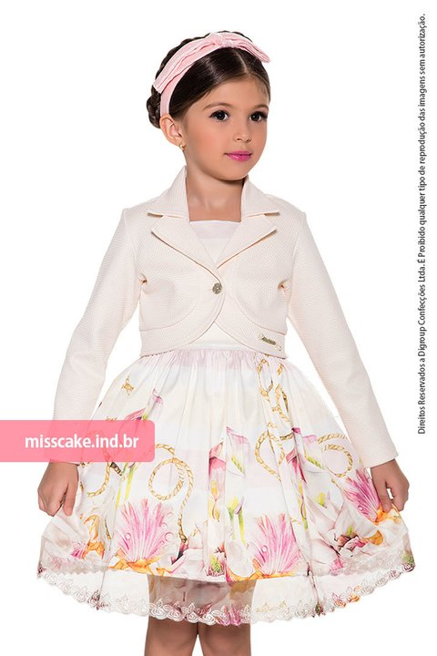 Girl Dress and Top Kids Miss Cake 510320