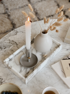 Candle Holder Gris