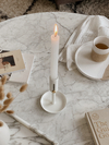 Candle Holder Blanco