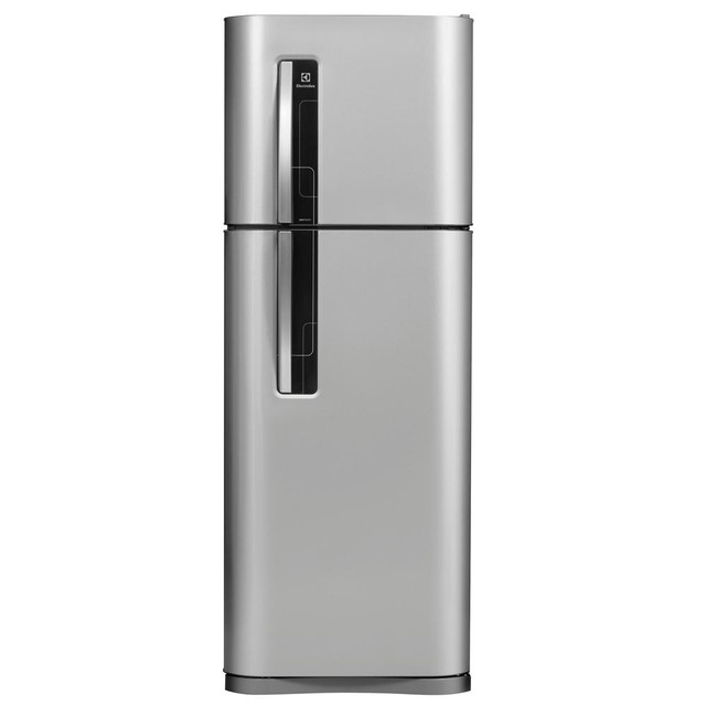 HELADERA NO FROST 284LTS GRIS ELECTROLUX DF3500P