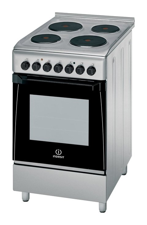 COCINA INDESIT KN3E51X INOXIDABLE