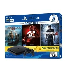 SONY PS4 + GOW-GTSUC4 1TB HITS 3 - comprar online