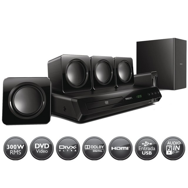 HOME THEATER PHILIPS HTD3511