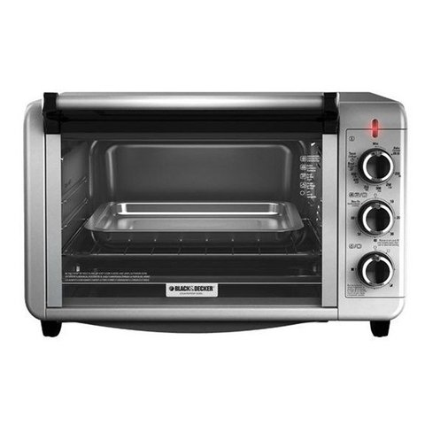 HORNO ELECTRICO BLACKYDECKER TO3210SSD 24LTS