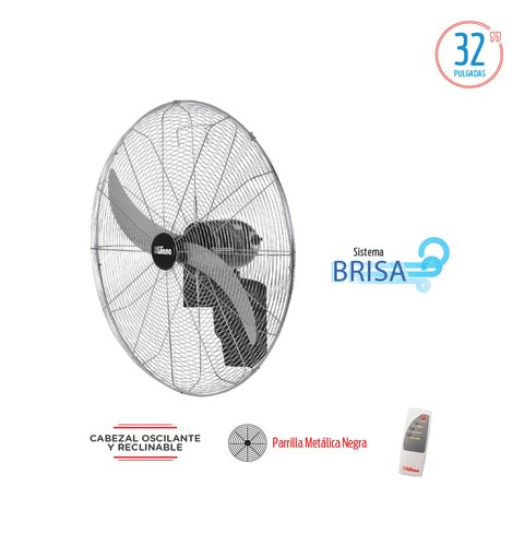 VENTILADOR PARED LILIANA VWIT32 32