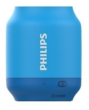 Parlante Philips Bt51a Inalambrico Azul