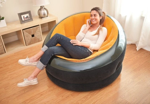 SILLON INFLABLE EMPIRE INTEX 112X109X69 - Casa Mendoza