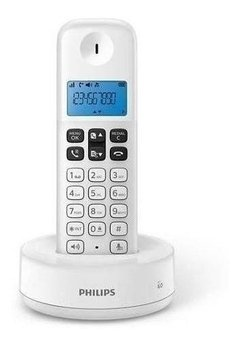 Telefono Inalambrico Philips D1311w/77 White