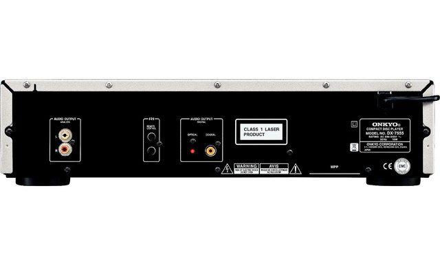 CD PLAYER ONKYO DX-7555 - comprar online