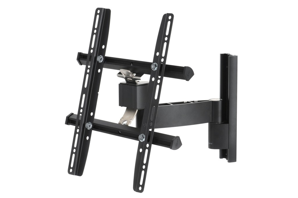 suporte para tv articulado vogel wall 1225 padr o vesa 400. Black Bedroom Furniture Sets. Home Design Ideas