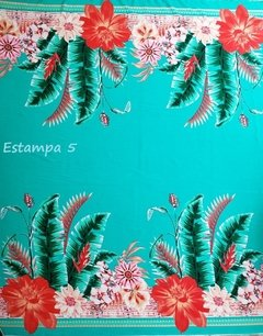 Imagem do Viscose Barrada Diversas Estampas